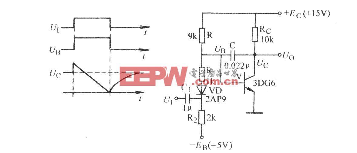 电容负反馈锯齿波电路(一)