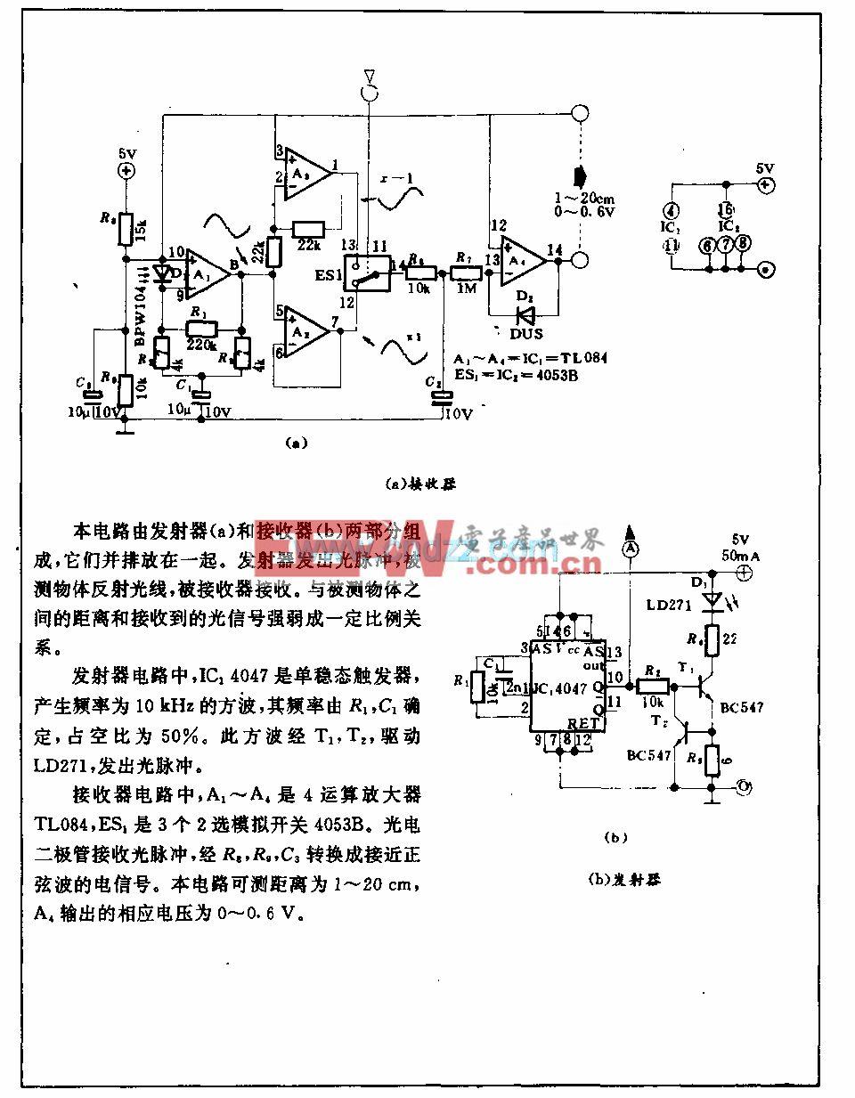 光電測距電路