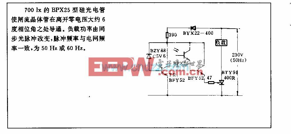 16A闸滋晶体管控制电路