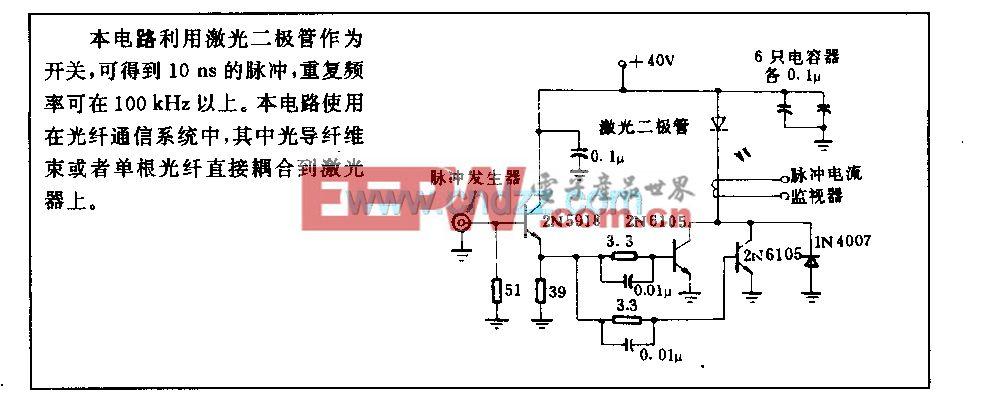 激光二极管信号源电路