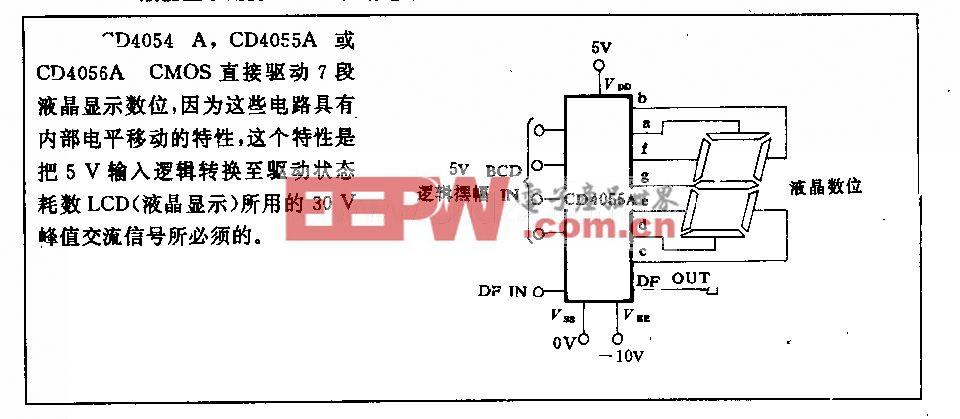 液晶显示用的CMos驱动电路