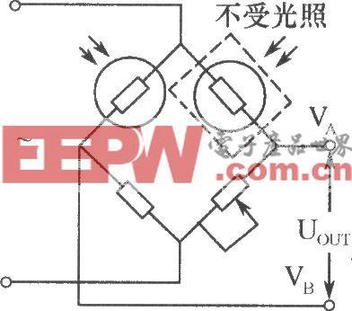 光敏电阻组成桥式光电检测器