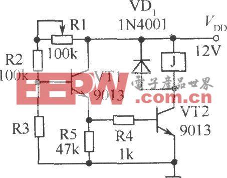 光暗控制继电器的电路