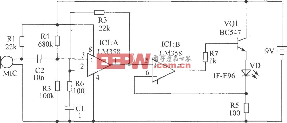 光纤传输语音电路
