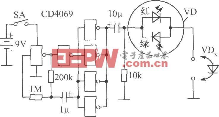 二极管快速分选器电路