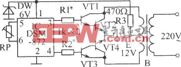 逆变器推动信号发生器电路
