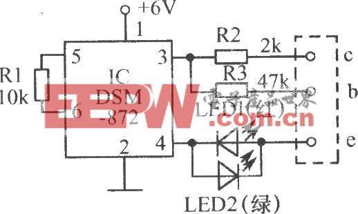 晶体管好坏速测仪电路