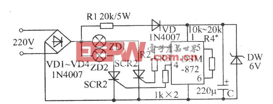 DSM-872典型应用电路(二)