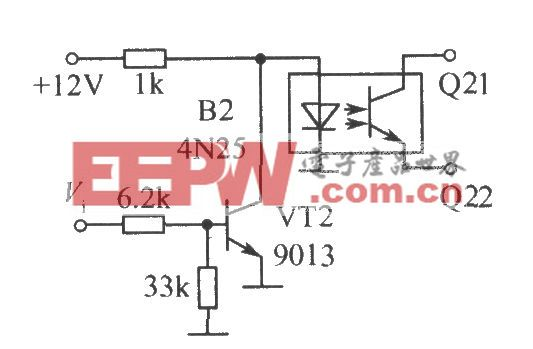 光電耦合器組成的開關電路(二)