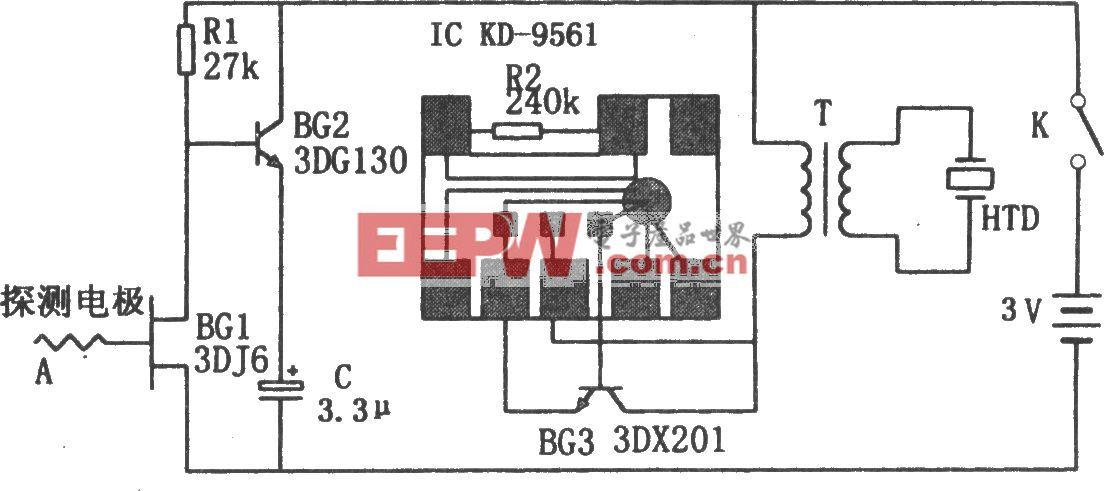 感應高壓報警器(KD9561)