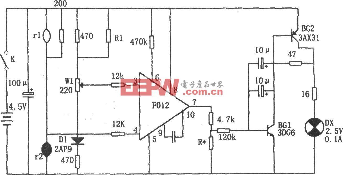 可燃易爆气体报警器(F012)