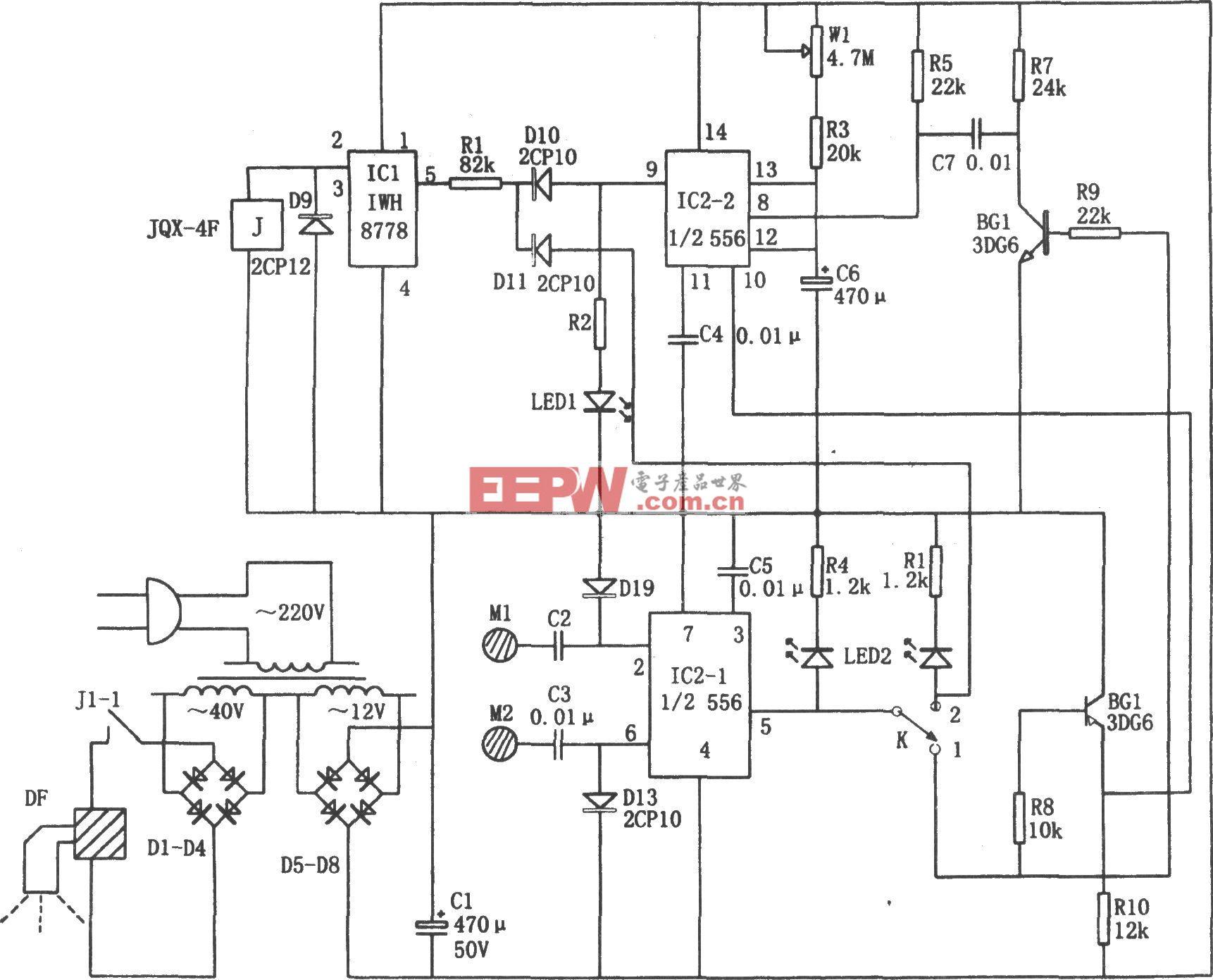 手触式定时供水控制阀(556、IWH8778)