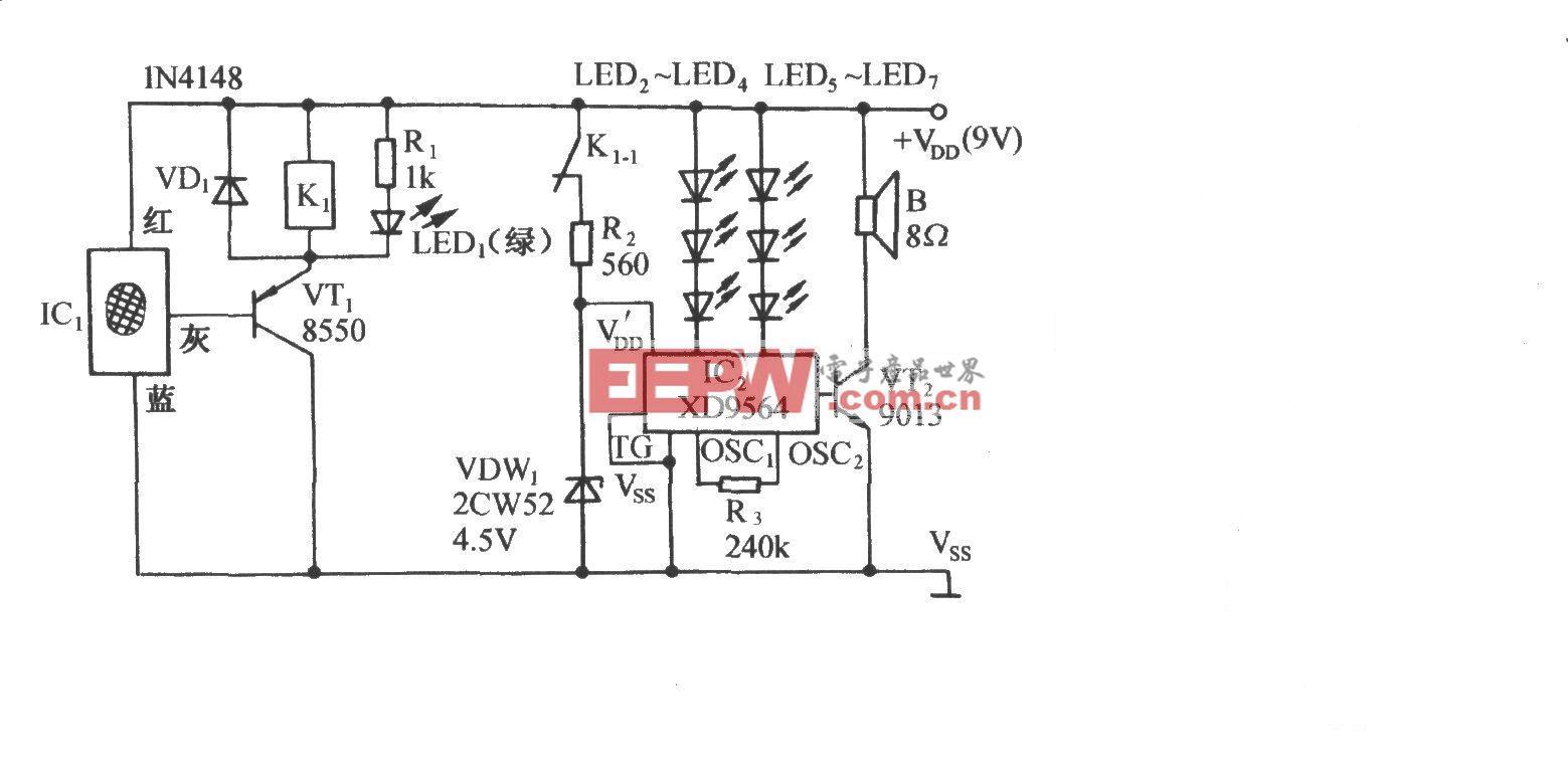 高料位大功率自动控制电路
