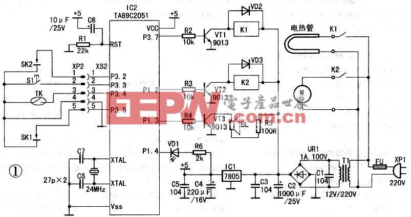 自动豆浆机控制板的替代(上)