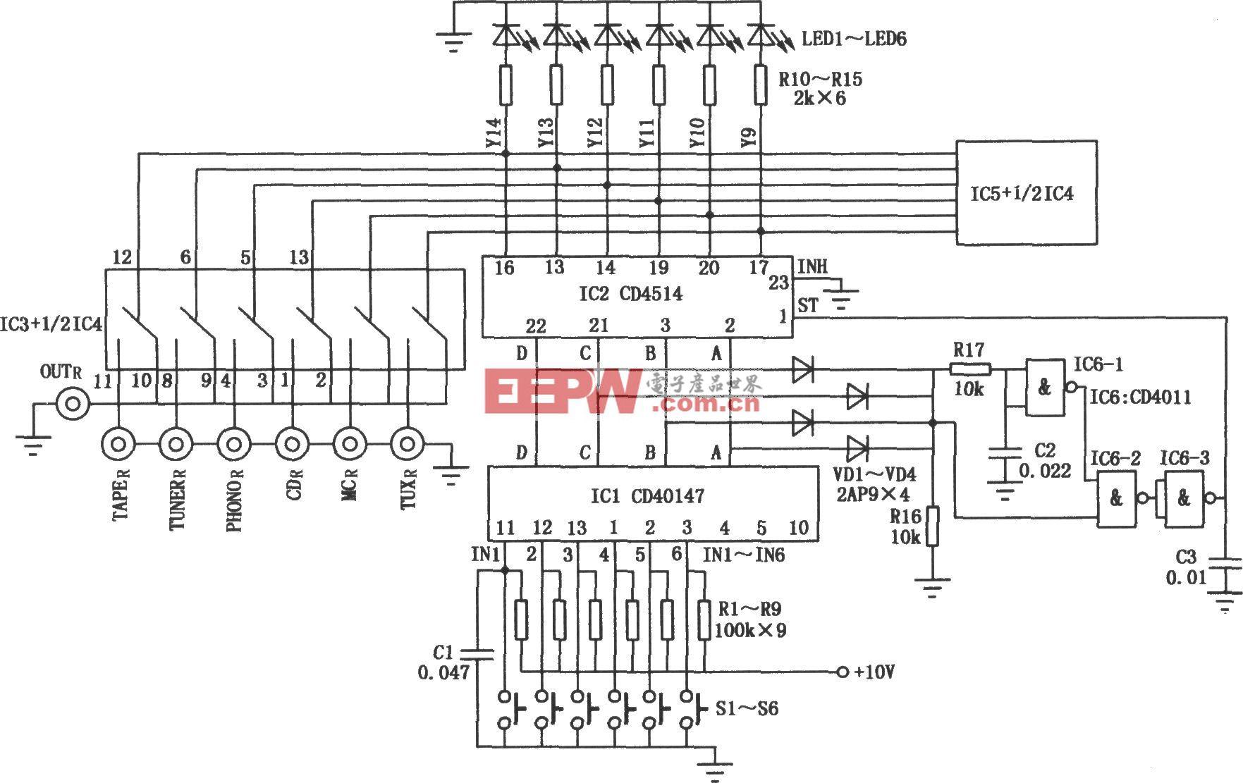電子AV轉換開關