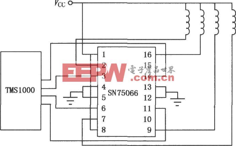 SN75064~SN75067四强电流达林顿开关