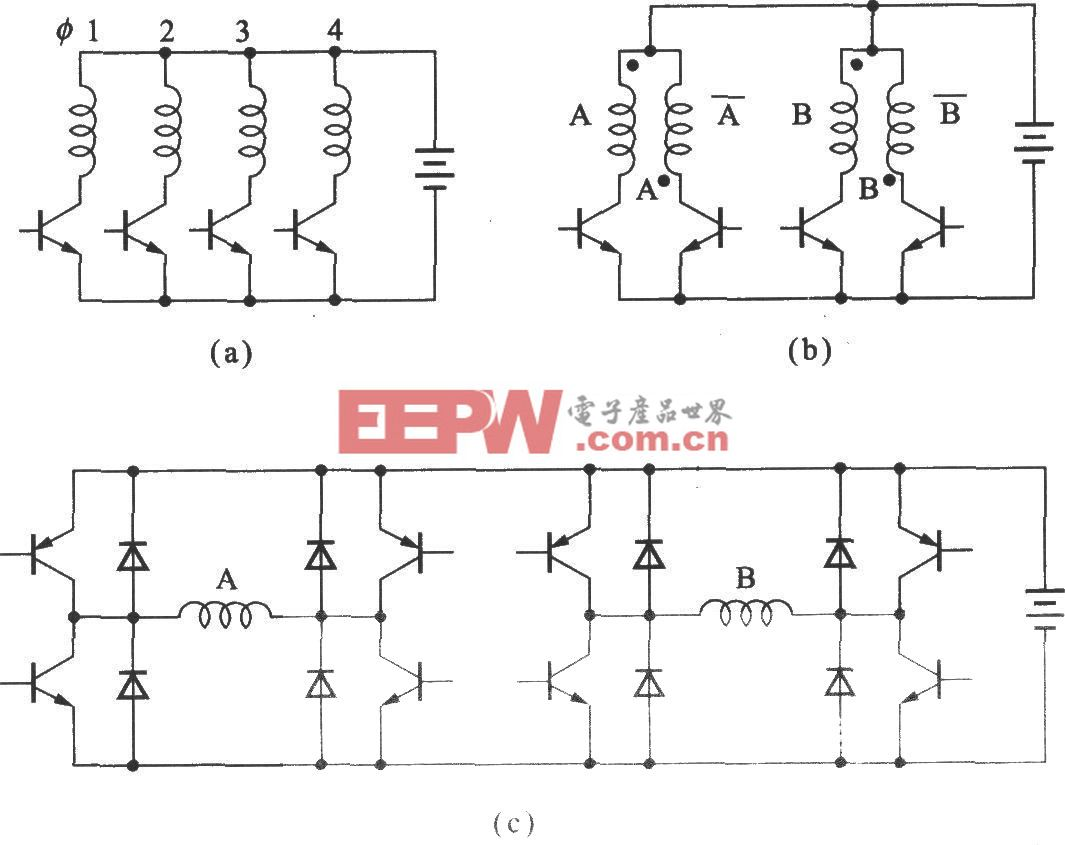 步进电动机的驱动电路及其画法