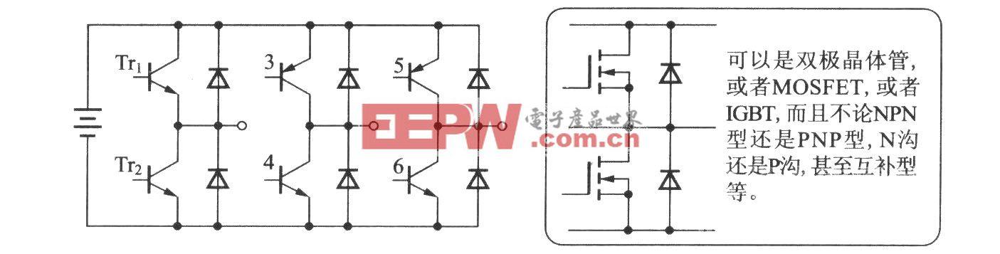 逆变器(三相电桥电路)
