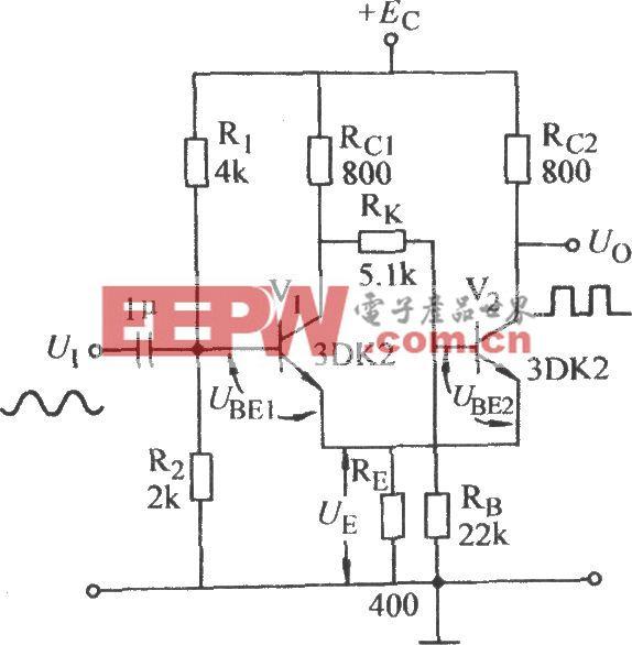 射极耦合双稳态电路