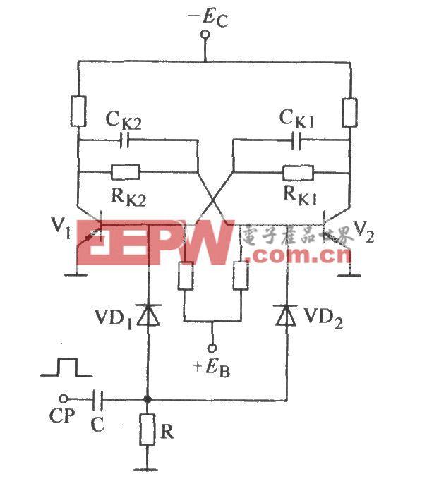 双稳态计数基极触发电路