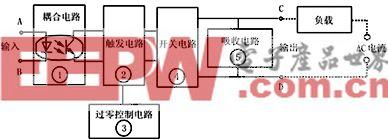 固态继电器原理及应用电路