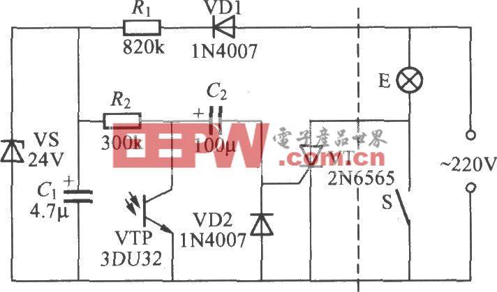 光控延迟灯电路(3)