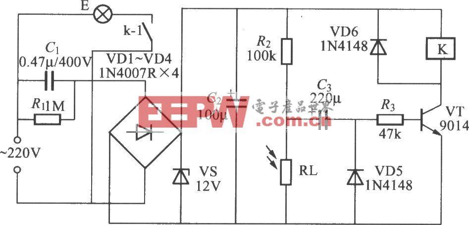 光控延遲燈電路(1)