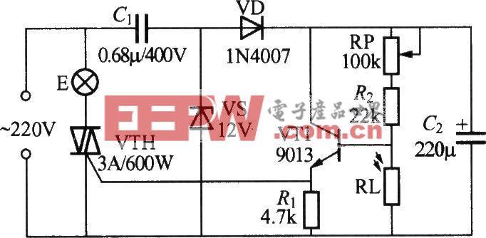 简易光控路灯电路(5)