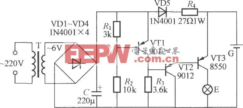 停电应急灯电路(1)