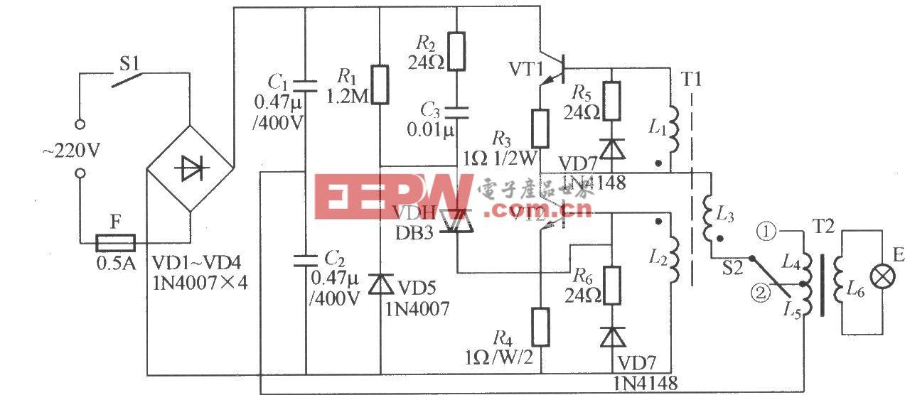 电子节能灯电路(1)
