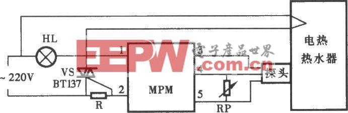 采用MPM模块制成的大功率温度控制电路