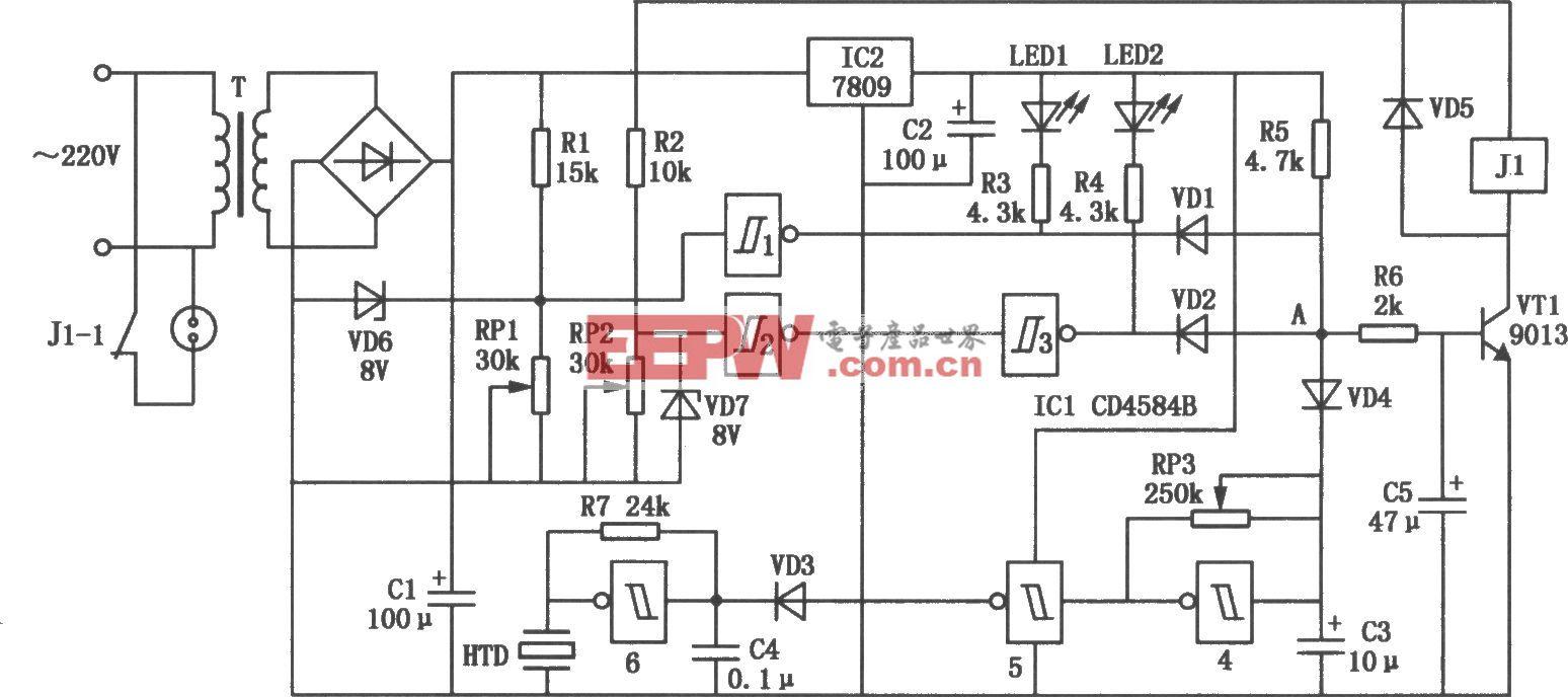 市电安全电压保护器