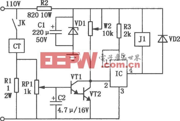 机床电磁吸盘欠流保护电路