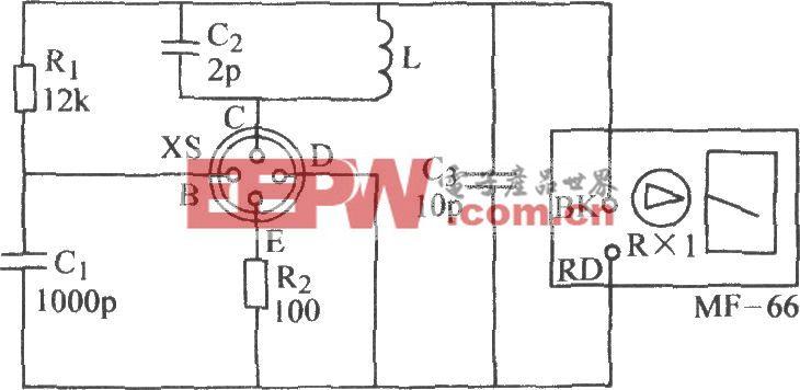 晶体管fT挑选电路