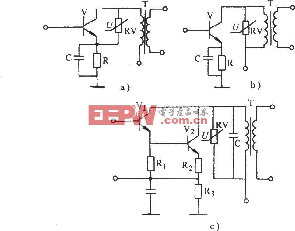 压敏电阻保护晶体管电路