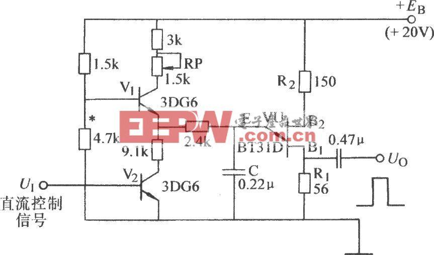 单结晶体管可控脉冲发生器