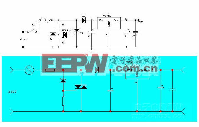 简单、特殊的稳压电路