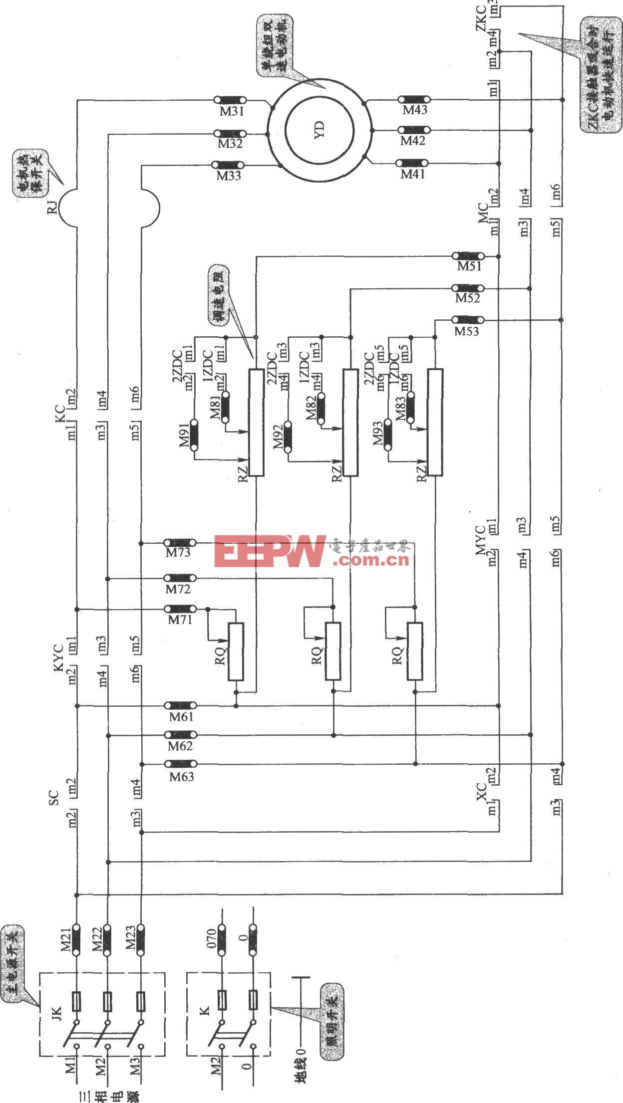 JKH1-771A电梯控制柜