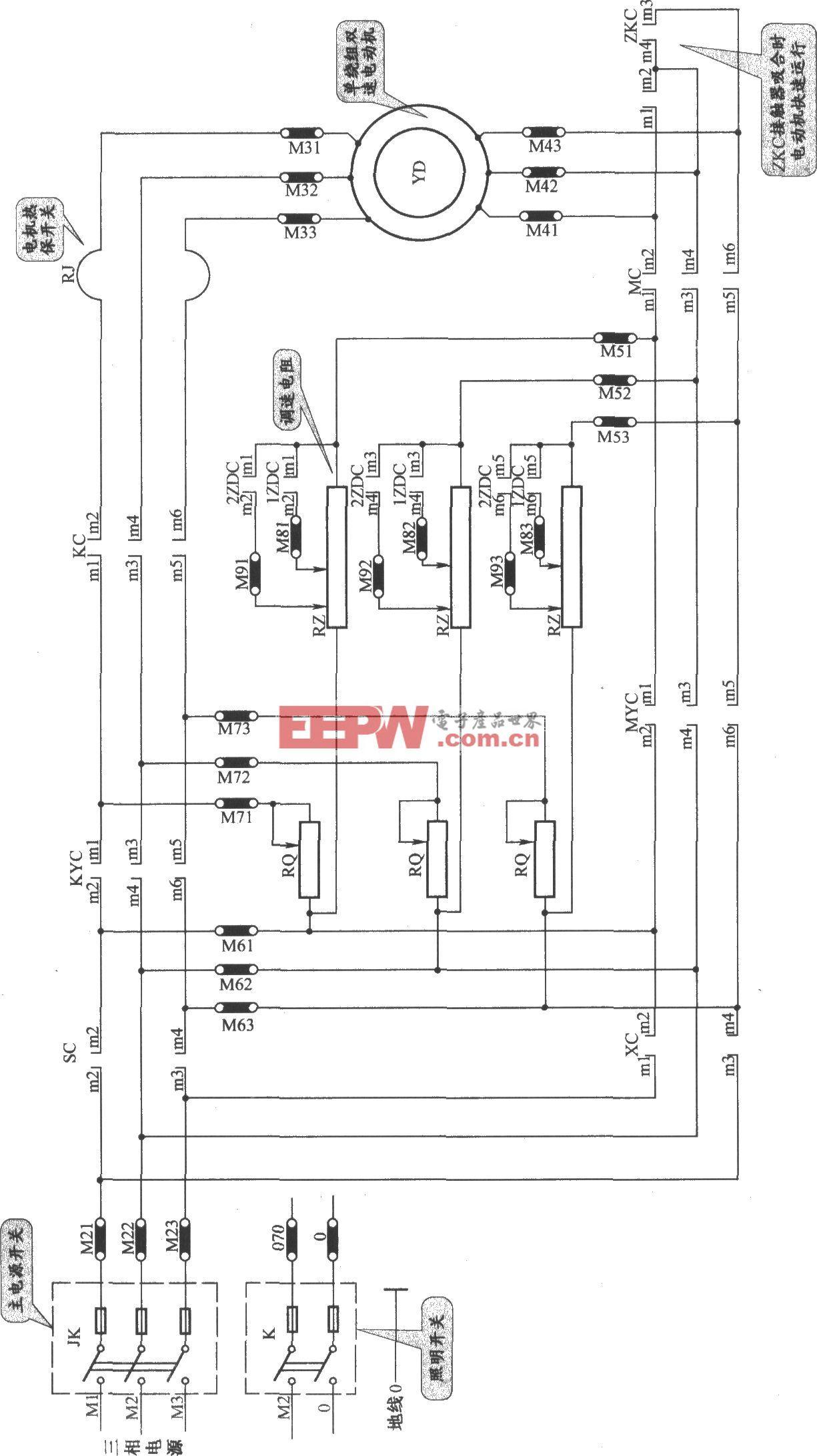 JKH1-791电梯主电路