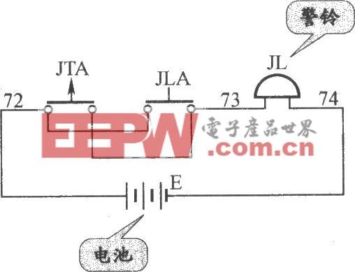 JKH1-771A电梯警铃电路