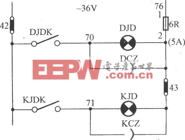 JKH1-771A电梯照明电路(2)