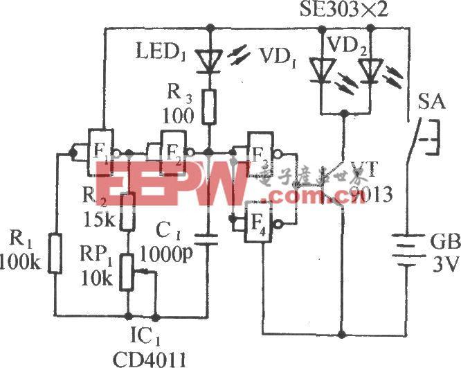 红外遥控音乐插座电路(一)