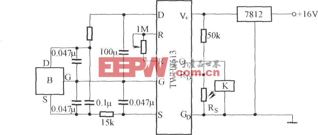 TWH9513的應用電路