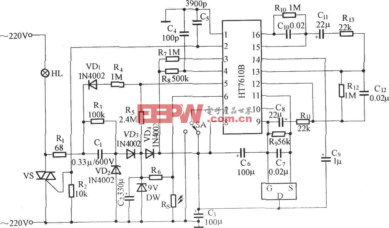 HT7610的應用電路