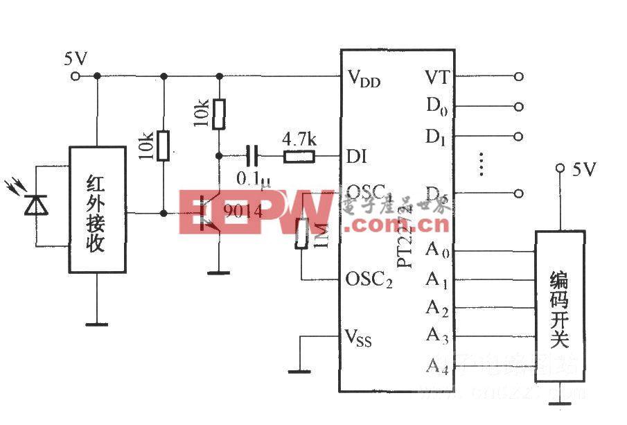 PT2272的应用电路