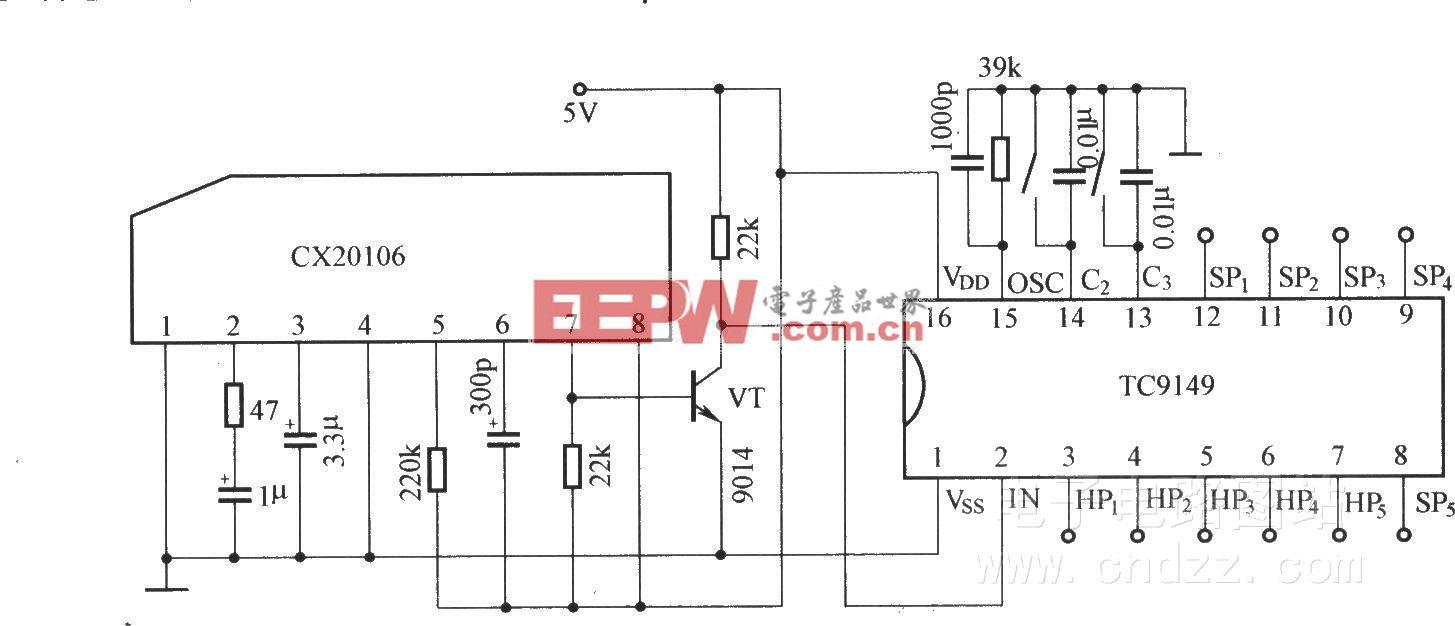 TC9149的应用电路