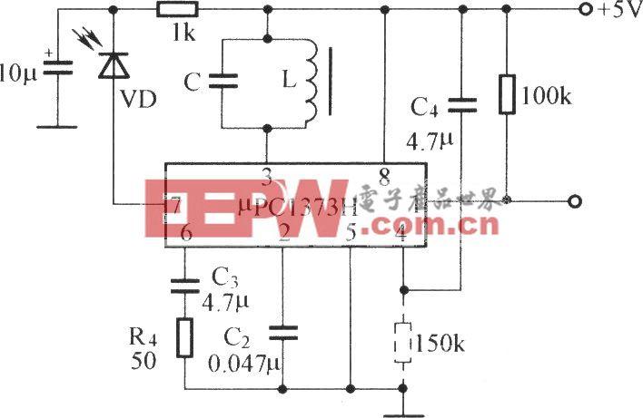 μPC1373H的应用电路
