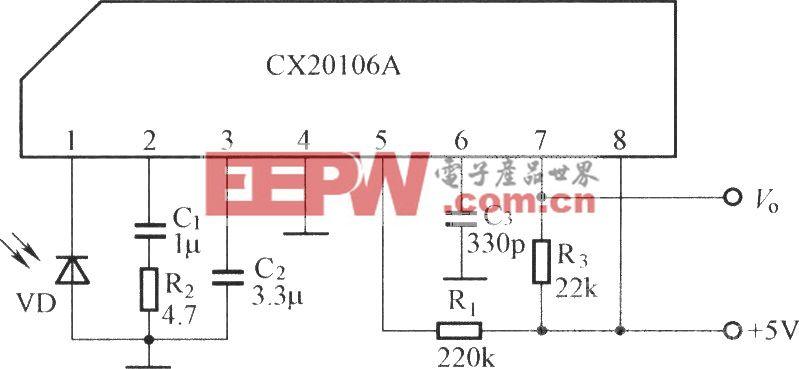 CX20106A的应用电路图
