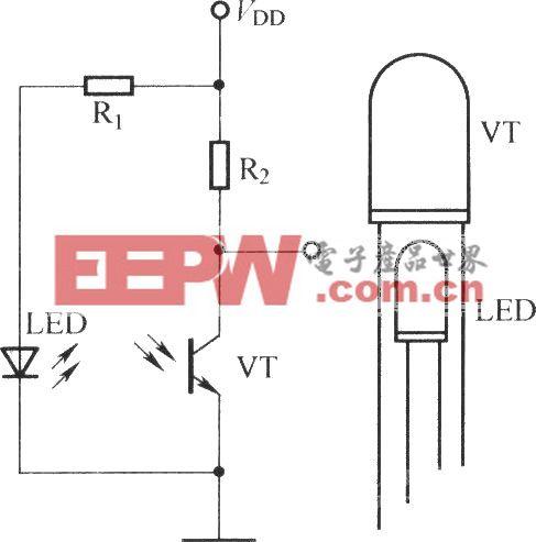 光电三极管的光偏置