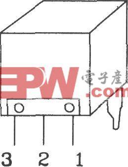 PFS-4091高敏度红外接收器件内部电路图